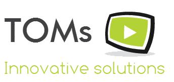 Logo TOMs vert