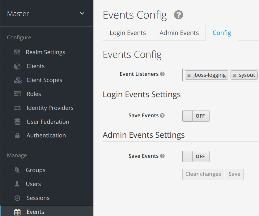 Keycloak SPI adding a custom event listener module - JANUA