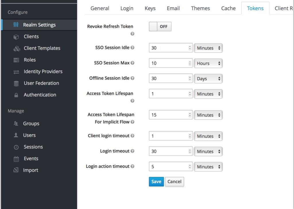 Understanding Token usage in Keycloak